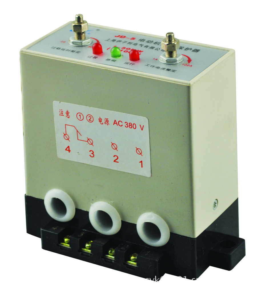 jd一5电动机保护器接线图